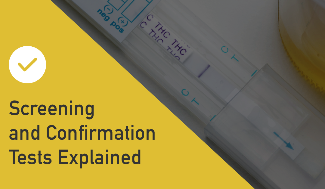 Screening and confirmation tests explained